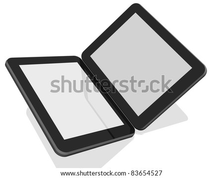 Group of Two Tablet Computers