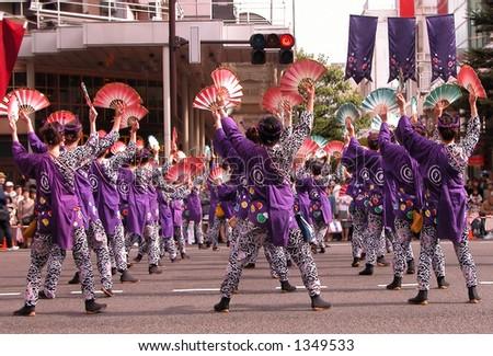 Group of women dancing \