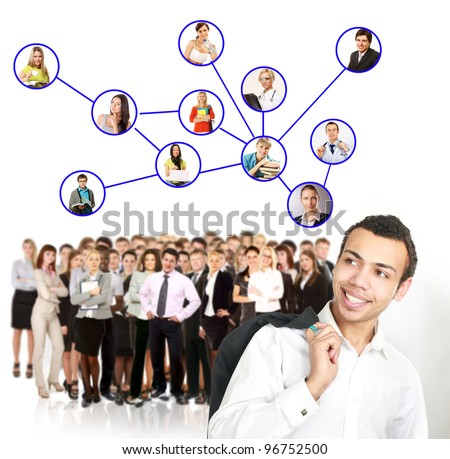 Group people and Network