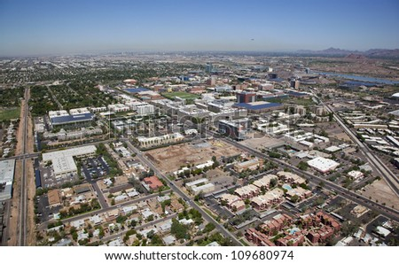 Growing up but not out, Tempe, Arizona