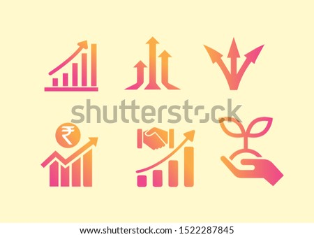 growth,icons,symbol of growth ,illustration of growth icons