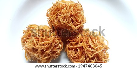 Grubi is one type of traditional Indonesian snacks. which is made from sweet potatoes. Zdjęcia stock ©