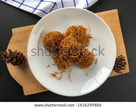 Grubi, sweety Indonesian traditional food Zdjęcia stock ©
