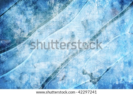 grunge abstract ice background for multiple uses