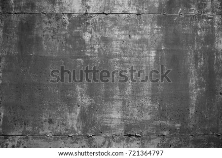 Grunge Abstract old rusty metal Texture. Aged Background with Scratch. Monochrome Dirty Metallic Surface Close up. Horizontal Image Copy Space. Top view #721364797