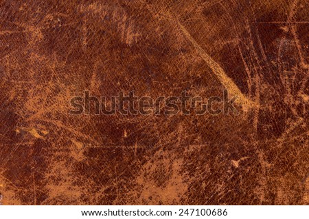 Grunge and old leather texture with dark edges