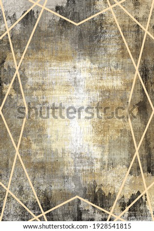 grunge background carpet colorful geometry knitwear  rug textile texture old grunge abstract dirty background with greekframe and ornamental pattern