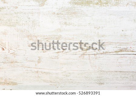 Grunge background. Peeling paint on an old wooden floor. #526893391