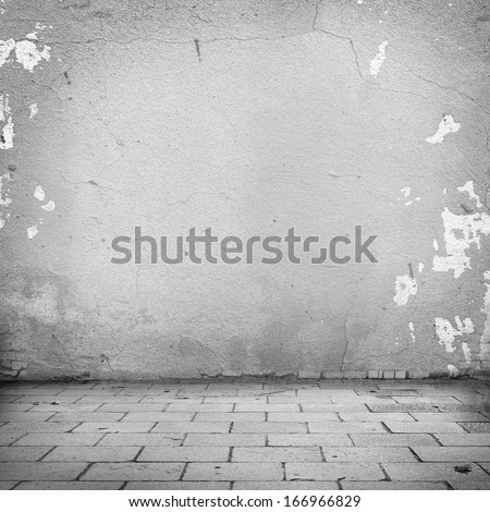 Grunge Urban Background Plastered Stock Photo 318432455