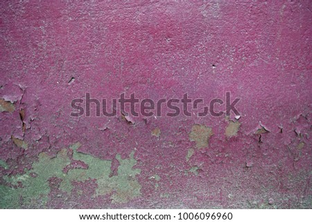 Grunge background with abstract colored texture. Old vintage scratches, stain, paint splats, spots. #1006096960