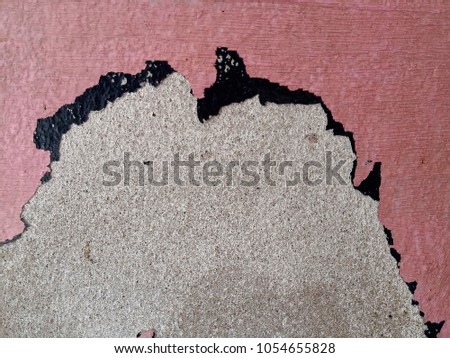 Grunge background with abstract colored texture. Old vintage scratches, stain, paint splats, spots. #1054655828