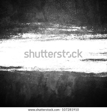 grunge background with brush space