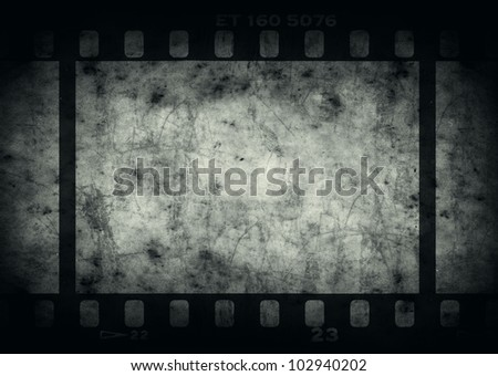 Grunge background with copy space for your design. Real vintage film texture used