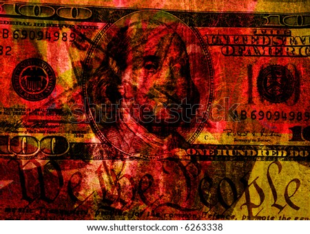 100 dollar bill clip art. With Hundred Dollar Bill