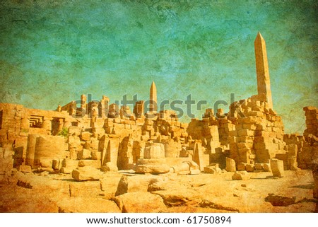 grunge background with ruins