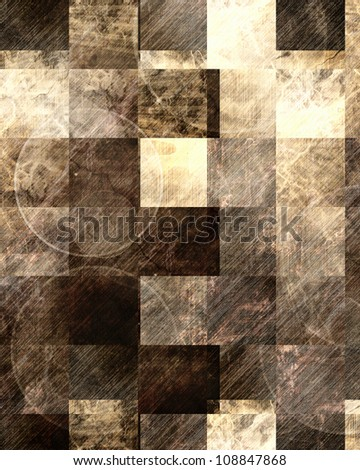 Grunge background with scratchmarks and dotted motives