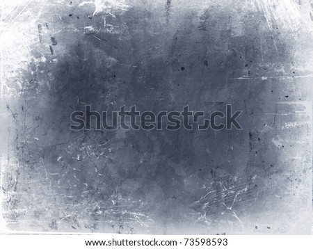 Grunge background with splats, stains and creases