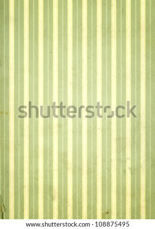 Grunge background with striped pattern and paper texture - stock photo