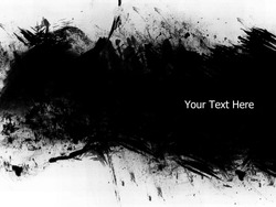 Grunge banner with copy space