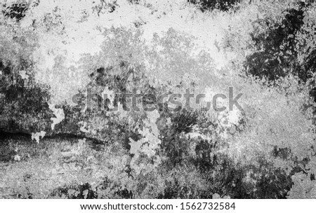 Grunge black and white abstract distress background or texture #1562732584