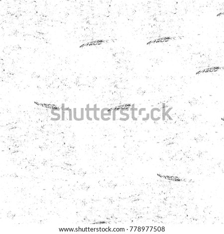 Grunge black and white pattern. Monochrome particles abstract texture. Background of cracks, scuffs, chips, stains, ink spots, lines. Dark design background surface. Gray printing element #778977508