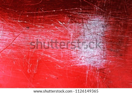 Grunge Black And White Red Distress Texture Scratch Dirty Thriller Background