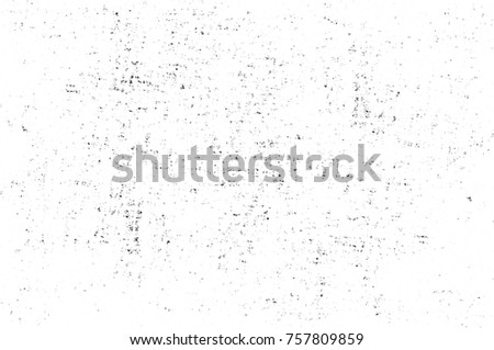 Grunge black and white seamless pattern. Monochrome abstract texture. Background of cracks, scuffs, chips, stains, ink spots, lines. Dark design background surface. Gray printing element #757809859