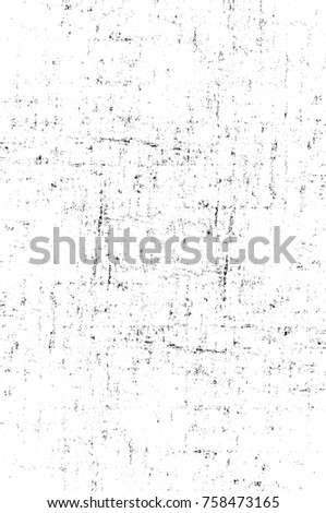 Grunge black and white seamless pattern. Monochrome abstract texture. Background of cracks, scuffs, chips, stains, ink spots, lines. Dark design background surface. Gray printing element #758473165