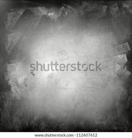 Grunge black and white wall - stock photo