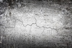 Grunge black dirty cracked stone wall - urban texture, great for your design and texture background