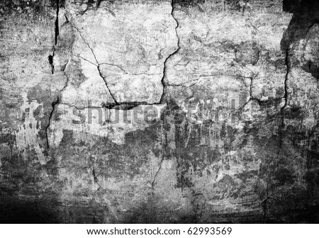 Grunge black wall (urban texture)