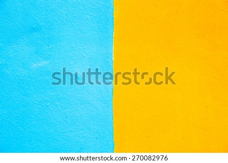 grunge blue and orange (colour two tone) background