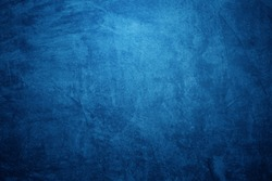 grunge  blue concrete wall abstract  Background