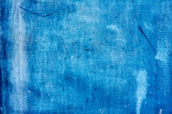 Grunge blue iron texture background, metal background with scratches. Metal blue grunge old rusty scratched surface texture