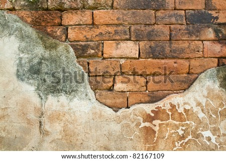 Grunge brick texture