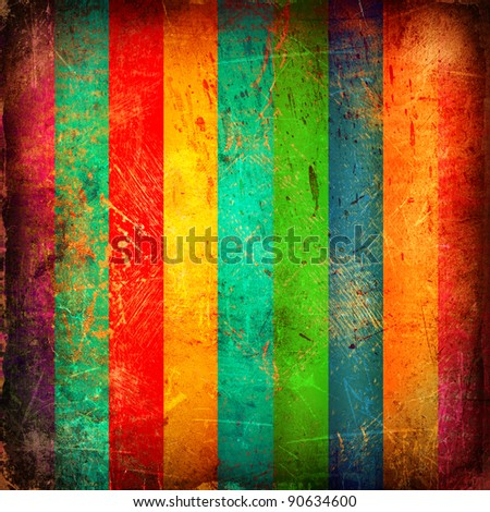 Grunge bright background with stripes