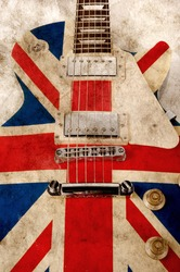 grunge brit pop guitar, vertical