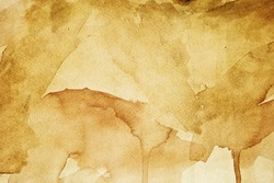 Grunge brown paper texture (water color background)