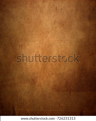 Grunge brown texture background. Copy space.