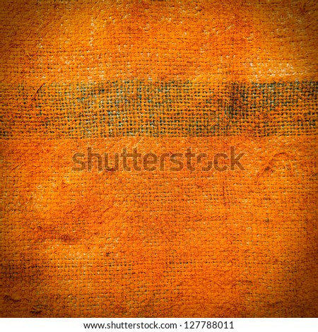 Grunge canvas texture background