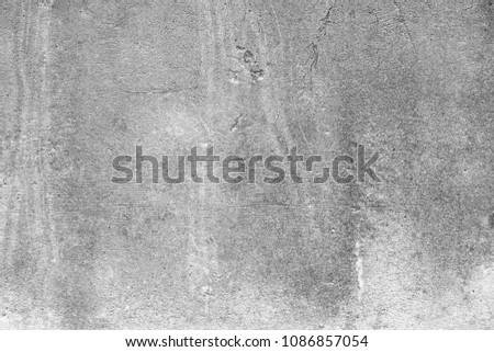 Grunge cement wall  background - Shutterstock ID 1086857054