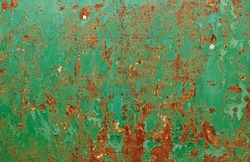 grunge chipped paint rusty textured metal