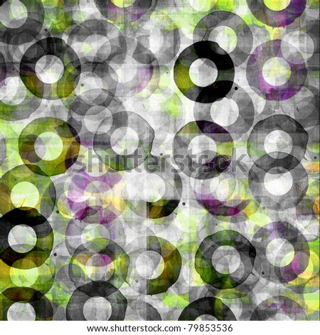 grunge circle design background
