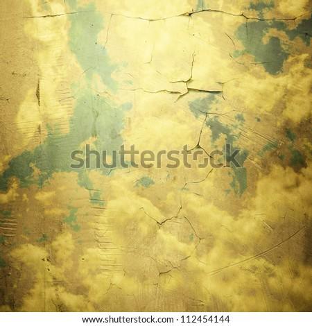 Grunge cloud background, vintage paper texture