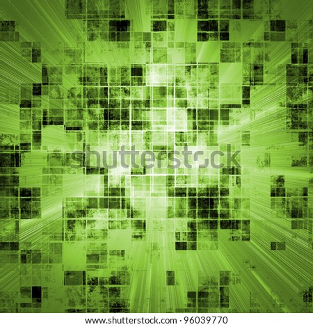 grunge concept fresh green background