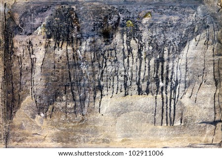 Grunge Covered Old Wall Background Texture