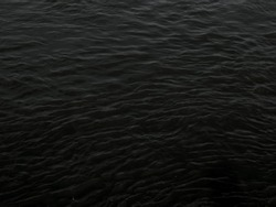 grunge dark black water texture useful as a background