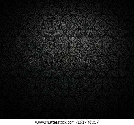 grunge, dark wallpaper; baroque style.