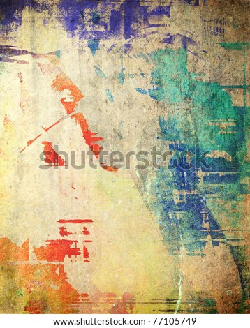 Grunge dirty background, colorful texture