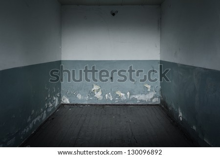 Grunge distressed stone wall and floor